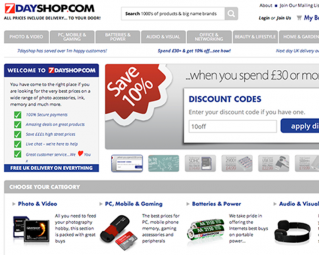 7dayshop re-platform on Magento Enterprise