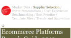 Ecommerce Platform Buyers Guide 2013 Ampersand Commerce