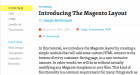 Magento Tutorial: Introducing the Magento Layout